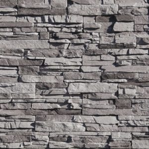 Silver Lining Stacked Stone