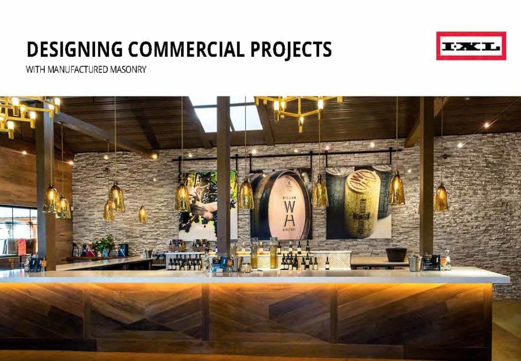 Designing Commercial Projects with Manufactured Masonry