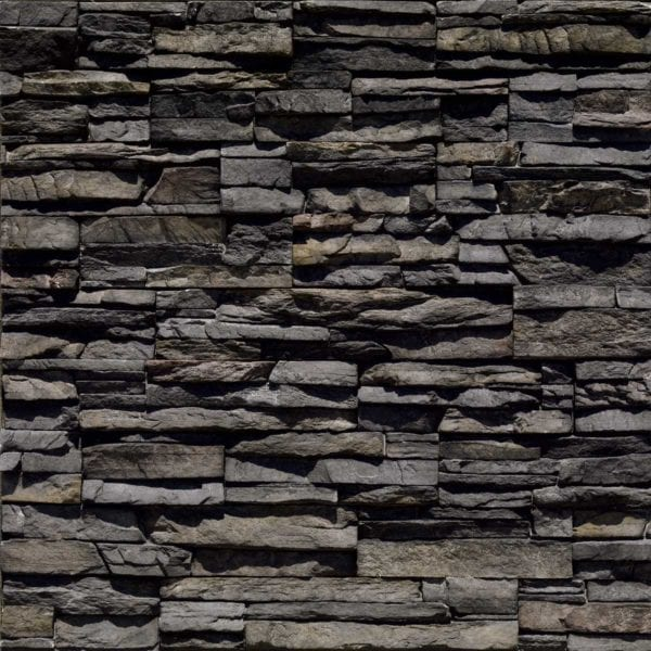 Black River Stacked Stone