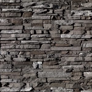 Dark Rundle Stacked Stone